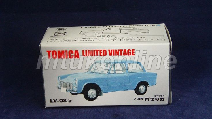 TOMICA LIMITED VINTAGE 2004 | TOYOTA PUBLICA 1961 | 1/64 | LV-08b
