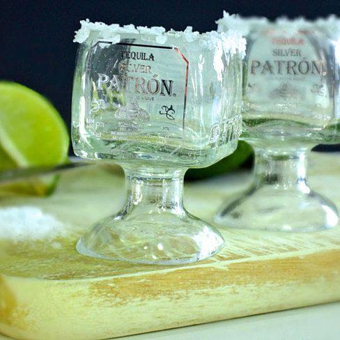 One Patron Tequila Bottle Margarita Shot Glass - 50ml $26.99
