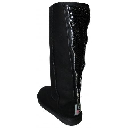 LadyLUX + LAMO 'Unzipped' black boots giveaway! Enter Here: http://ow.ly/dQ0IO
