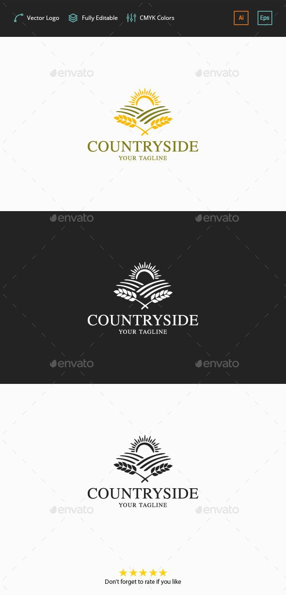 Countryside Logo - Nature Logo Templates