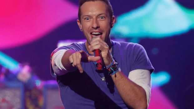 Chris Martin and Coldplay will play one show in Auckland on December 3.
