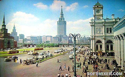 Цветные фото Москвы 1959 года | Старые фотографии, Осенние ...