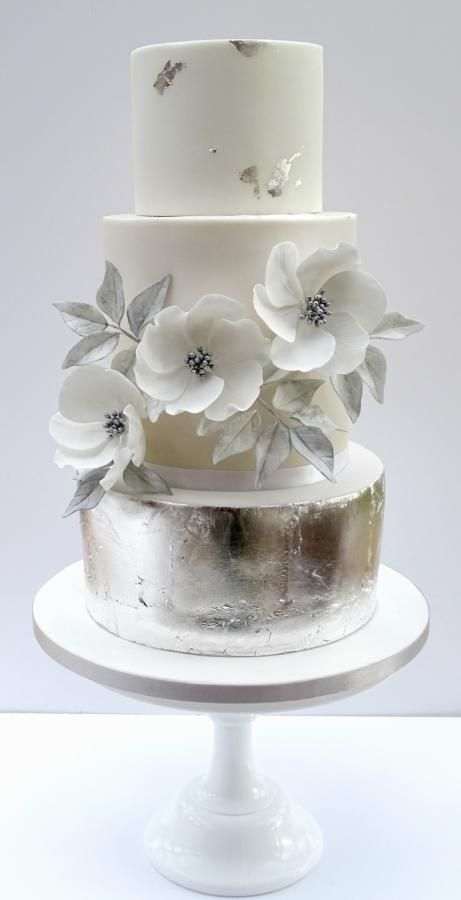 368 best Silver Cakes images on Pinterest | Cake wedding, Amazing ...