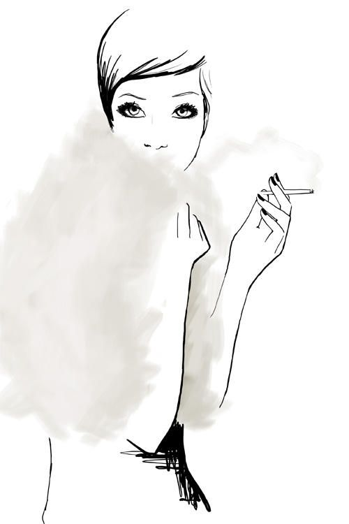 The Last Smoke / Garance Doré