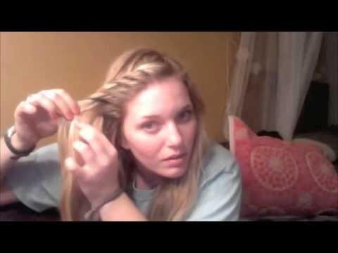 Front Twist Hair Tutorial