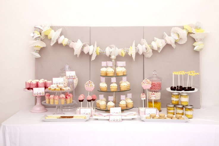 Cupcake Party Dessert Table
