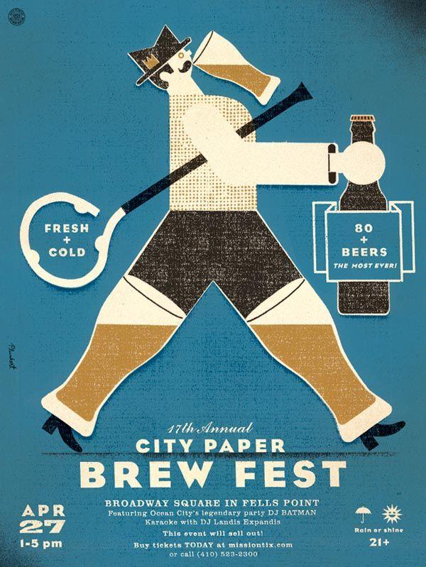 SPUR DESIGN | Baltimore City Paper's 17th Annual Brew Fest