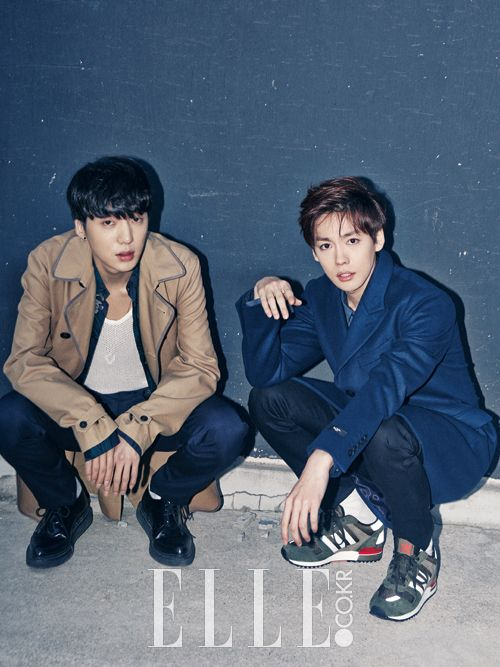 Seungyoon and Jinwoo - Elle Magazine November Issue '14