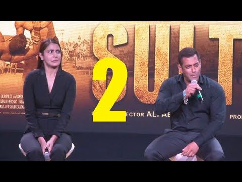 SULTAN trailer launch | Salman Khan, Anushka Sharma | PART 2