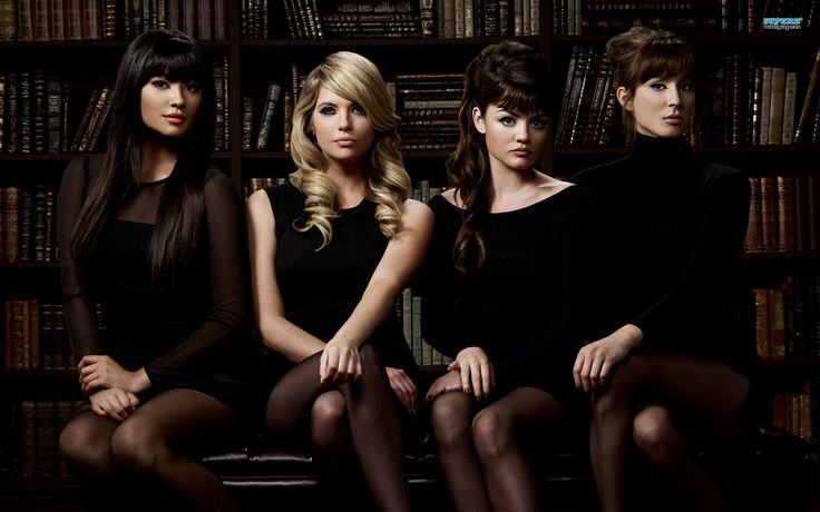 Pretty Litle Liars at Library