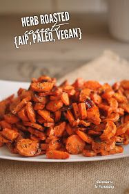 Adventures in Partaking: Roasted Carrots {AIP, Paleo, Vegan, Whole 30}