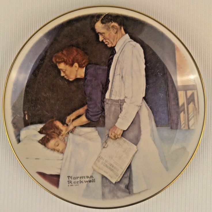 Norman Rockwell Four Freedoms Speech Fear Want Worship Plates Gorham China 1976 | eBay