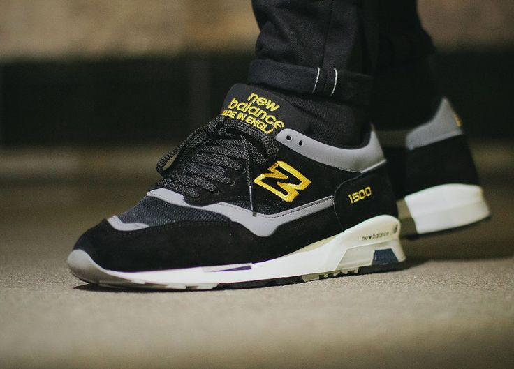 1500 Leather And Nubuck Sneakers - NavyNew Balance 3p84rqMf