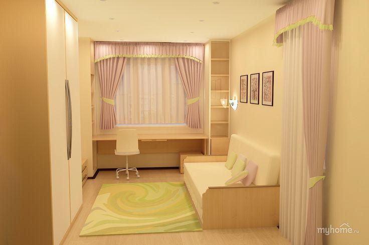интерьер маленькой гостиной-спальни: 26 тыс изображений найдено в Яндекс.Картинках