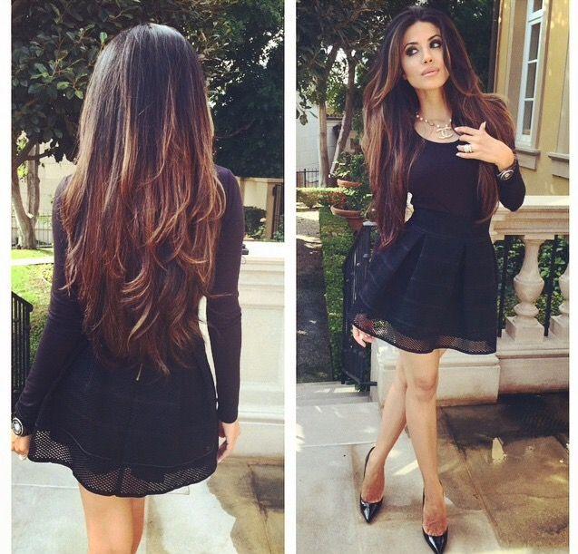 Leyla Milani hair color