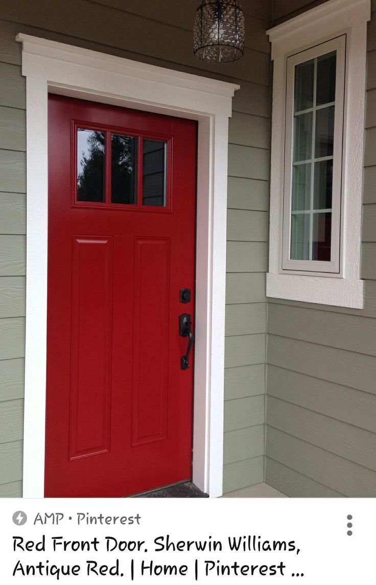 Antique Red Sherwin Williams Wakefield Ideas