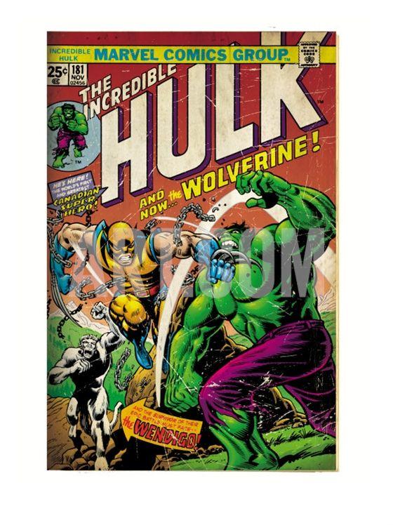 Wolverine First Appearance Art Print - Geek Decor