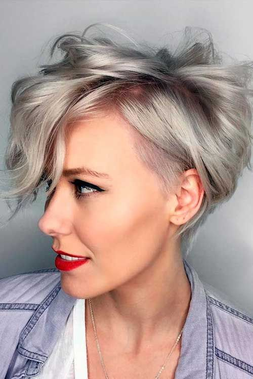 Totalmente Chique Estilos para Pixie Haircuts » Bom Penteados