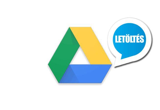 Google Drive 2.7.412 (magyar) Letöltés  Google Drive 2.7.412 (magyar) Android alkalmazás letöltés ÚJ!  Megjelent a világhírű cég Google Drive nevű Android alkalmazása amely egyszerű és gyors csatlakozást biztosít az ingyenes felhő alapú tárhelyéhez.  Google Drive (Gdrive) felhő alapú tárhelyén biztonságosan tárolhatjuk fájljainkat (pl. videókat képeket dokumentumokat stb.) melyeket Android okostelefonról tábletről és számítógépről is elérhetünk és nem kell attól tartanunk hogy valami hiba…