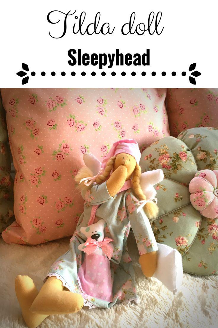 Tilda doll Sleepyhead  Lalka Tilda śpioch
