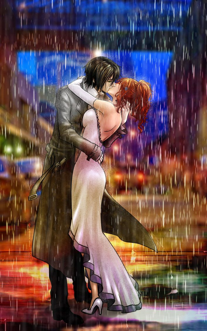 I'm not a fan of Ulquiorra & Orihime, I'm more of the Ichigo&Orihime fan, but this picture is gorgeous!