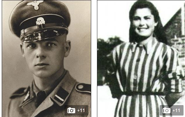 Auschwitz's forbidden love: The disturbing real-life story of Jewish death camp inmate who saved her family from the gas chamber by falling in love with SS guard   http://www.biographicalinquiries2.com/auschwitzs-forbidden-love-real-life-story-of-jewish-death-camp-inmate-love-with-ss-guard
