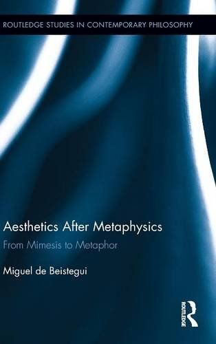 Aesthetics After Metaphysics: From Mimesis to Metaphor (Routledge Studies in Contemporary Philosophy) free ebook