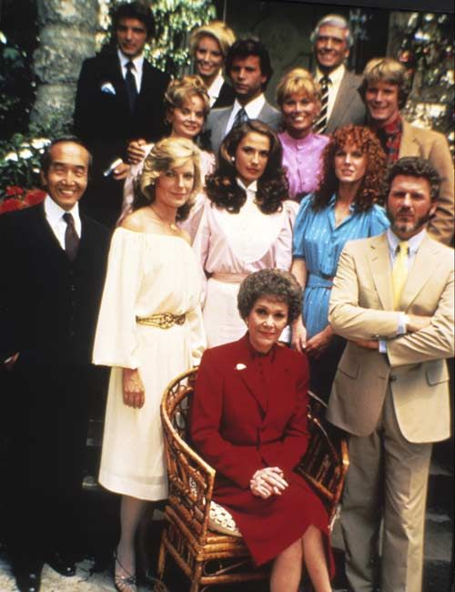Falcon Crest (1981-1990). Falcon Crest is an American primetime television soap opera which aired on the CBS network for nine seasons. A total of 227 episodes were produced.  The series revolves around the feuding factions of the wealthy Gioberti/Channing family in the Californian wine industry. Jane Wyman starred as Angela Channing, the tyrannical matriarch of the Falcon Crest Winery. #SoapOpera  http://www.youtube.com/watch?v=ypZT4lQHoK8