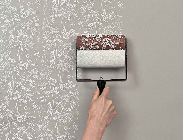 Patterned Paint Roller Kit1