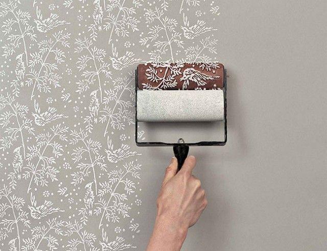 Patterned Paint Roller Kit1