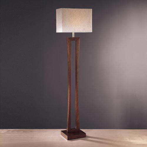 Metropolitan Cherry Floor Lamp Ambience Shaded Floor Lamps Lamps