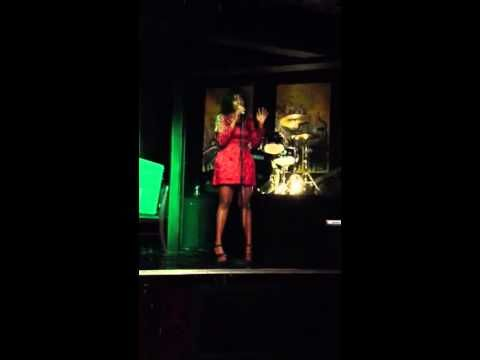 """Female Poet performs """"Much Too Fine"""" at Red Cat Jazz Cafe #ElevationMagazine #NightClubs  #RedCatJazzCafe"""