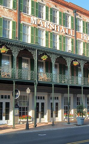 The Marshall House Is An Inn In Savannah Plan Your Road Trip To Ga With Roadtrippers