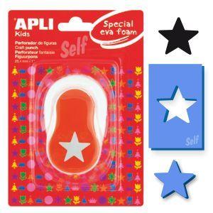 Perforador con forma de estrella para Goma Eva, troquelador http://www.selfpaper.com/html/perforador-de-formas-troquelador-para-goma-eva-g.html