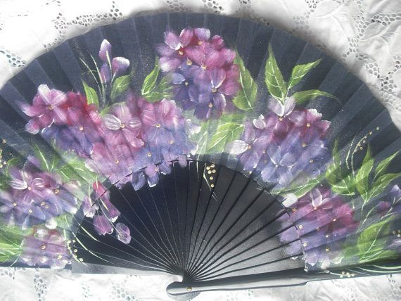 Hand Painted Fan From Spain