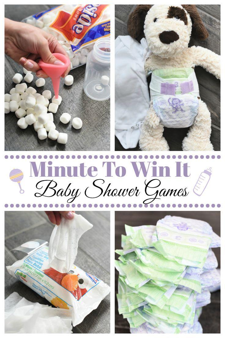 Leuke minuut om het te winnen Baby Shower Games