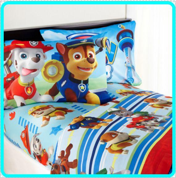 Nickelodeon's Paw Patrol 'Puppy Hero' Kids Sheet Set Size Twin 2-DAY SHIP #Nickelodeon