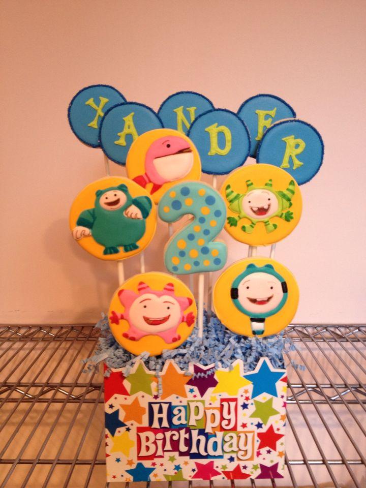 Yup Yups Birthday Cake
