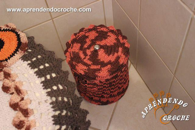 Um charme a mais para decoração do seu banheiro! Aprenda como se faz! - Duração 31 Min.