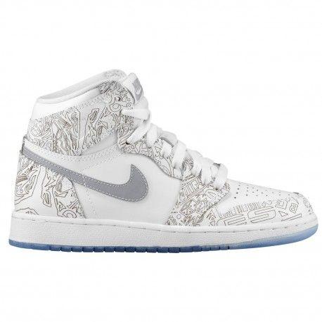 $118.99 #jordanlife #sneakers #gatorade #airjordan #sneakersale   jordan retro high 1 og,Jordan Retro 1 High OG Laser - Boys Grade School - Basketball - Shoes - White/Metallic Silver-sku:05290 http://jordanshoescheap4sale.com/1250-jordan-retro-high-1-og-Jordan-Retro-1-High-OG-Laser-Boys-Grade-School-Basketball-Shoes-White-Metallic-Silver-sku-05290100.html