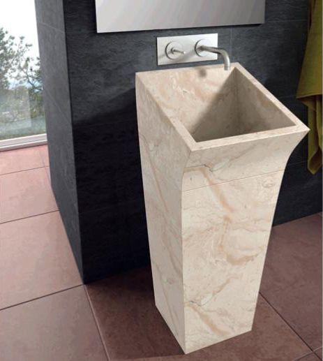 Floor Standing Washbasin In Stone By Bathco. Stone SinkKitchen SinksBathroom  ...