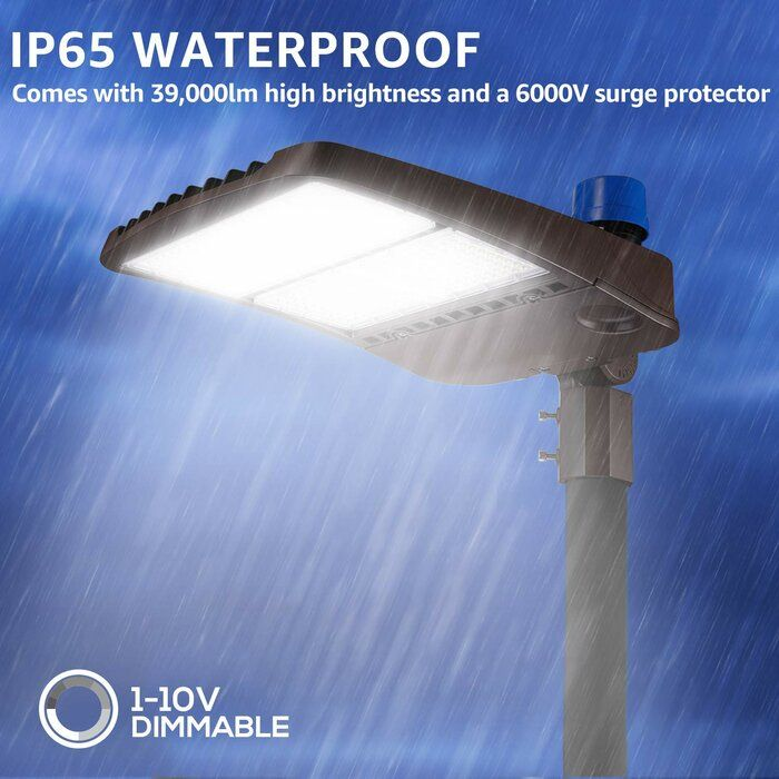 300w Parking Lot Led Security Light In 2020 Security Lights Solar Flood Lights Solar Powered Lights