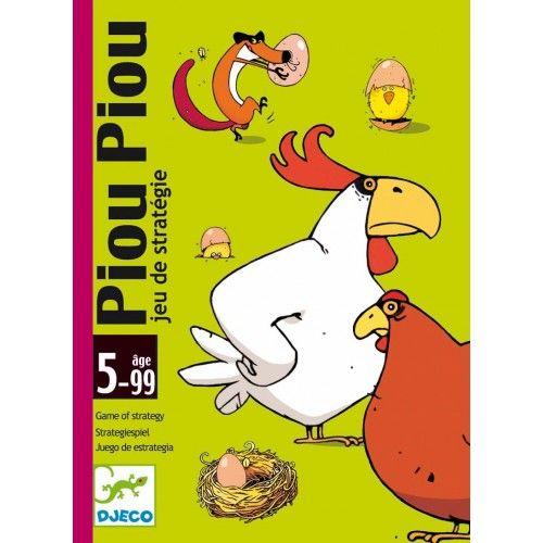 Kártyajáték - Piou Piou