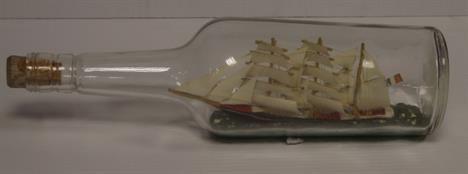 Vintage Ship in Bottle