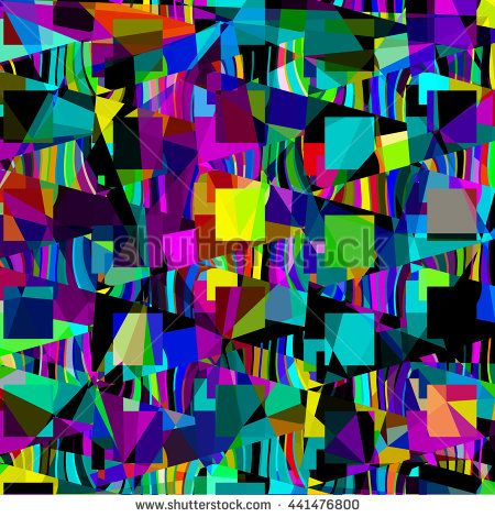 Geometric abstract background  - stock photo