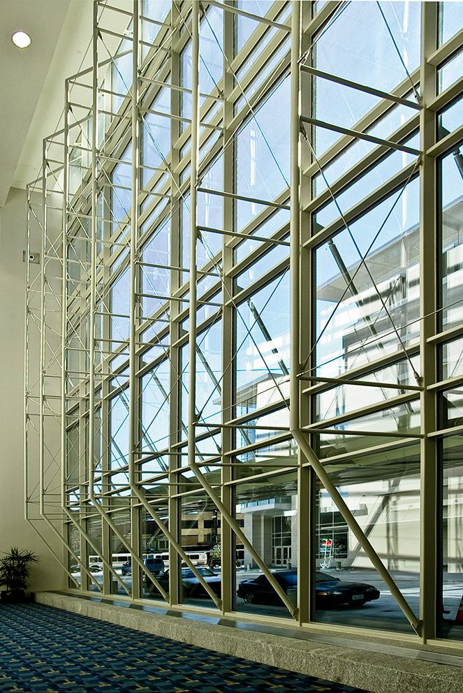 Curtain Wall Roof Detail