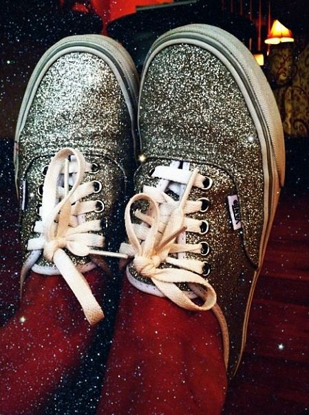 Sparkly vans - SO GREAT!! Will be getting some for summer!