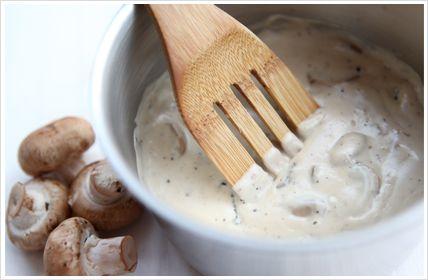 mushroom sauce South Africa Style