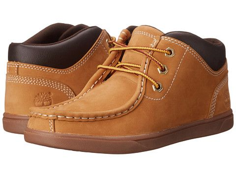 Timberland Kids Groveton Leather Moc Toe Chukka (Big Kid)