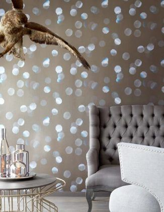 wallpaper trends 2016 19 stunning examples of metallic wallpaper - Designer Wallpaper For Bathrooms